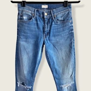 Mother Ankle Jeans The Muse Wild Thing Skinny 26